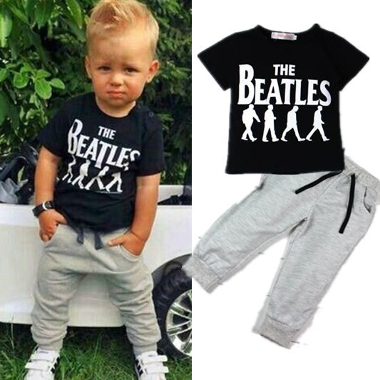Лето стиль мальчики одежда комплект костюм дети мальчик одежда спорт костюм 1 комплект