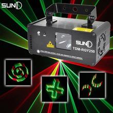 LED Laser Stage Lighting Effect DMX Stage Light Show Projetor dj Equipment RGY Disco Light Effect Luz Discoteca Party Lights(China (Mainland))