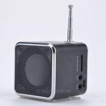 TD-V26 Portable Micro SD TF USB Mini Speaker Music Player Portable FM Radio Stereo mp3 phone Laptop MP3 MP4 Player Speaker(China (Mainland))
