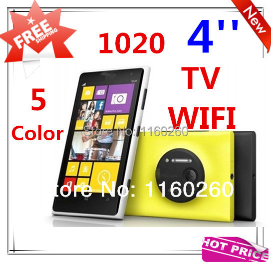"New 4.0"" Touch Screen Quad Band Dual SIM 1020 TV WIFI Mobile Phone 5 Colors with Gift Free Shipping(China (Mainland))"