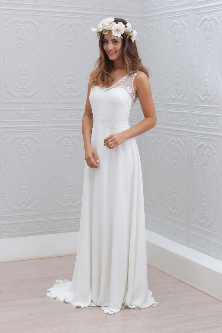Buy zy314 romantic white hot sale beach for Buy beach wedding dress