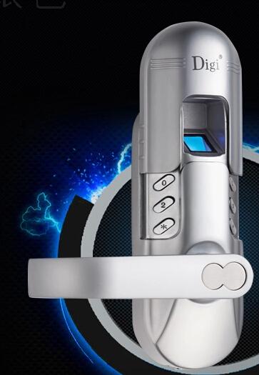 1pcs/lot Fashion RTFP-01SR easy to install smart Single latch biometric Fingerprint door lock(China (Mainland))