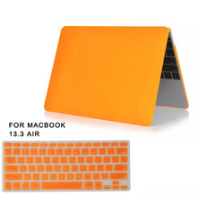 """For Apple Macbook Air 13"""" Hard PVC Case Cover+Keyboard Skin film for macbook air 13 case Matte Rubberized Protector laptop case(China (Mainland))"""