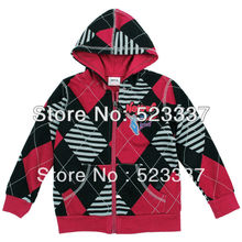 FREESHIPPING A3370# hot new fashion NOVA kids brand baby children clothing spring winter zipper boys hoodie jacket coat(China (Mainland))