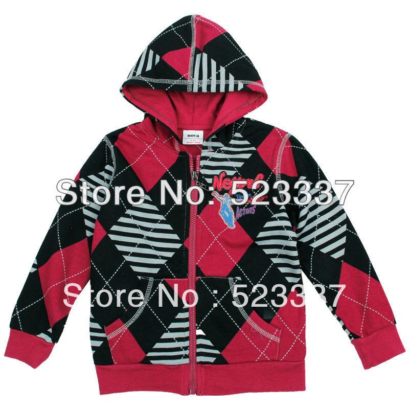 FREESHIPPING A3370# 5 pcs/lot 2013 new fashion NOVA kids clothes autumn-winter baby boys hoodies hood