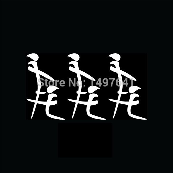 50 pcs/lot 3x Kanji Blow Job Car Window Stickers Pack Lot Head Vinyl Decal For Truck Bumpers Funny JDM Import Writing Joke<br><br>Aliexpress