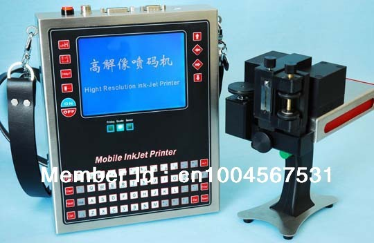 Handheld inkjet printer/online using available Brand new ,Professional Variable barcode inkjet printer