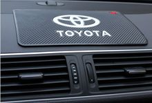 Hot Time-limited Rushed Words Anti-slip Mat Interior Accessories Case For Toyota Corolla Avensis Camry Rav4 Yaris Car Styling (China (Mainland))