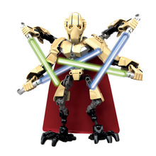 XSZ Limited Edition Star War Prince of the Devils Robot Minifigure Building Block Toys Action Figure