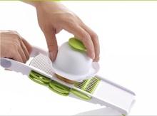 Kitchen Vegetable Dicer Slicer Potato Carrot Dicer Salad Maker Assistant (5 blades)(China (Mainland))