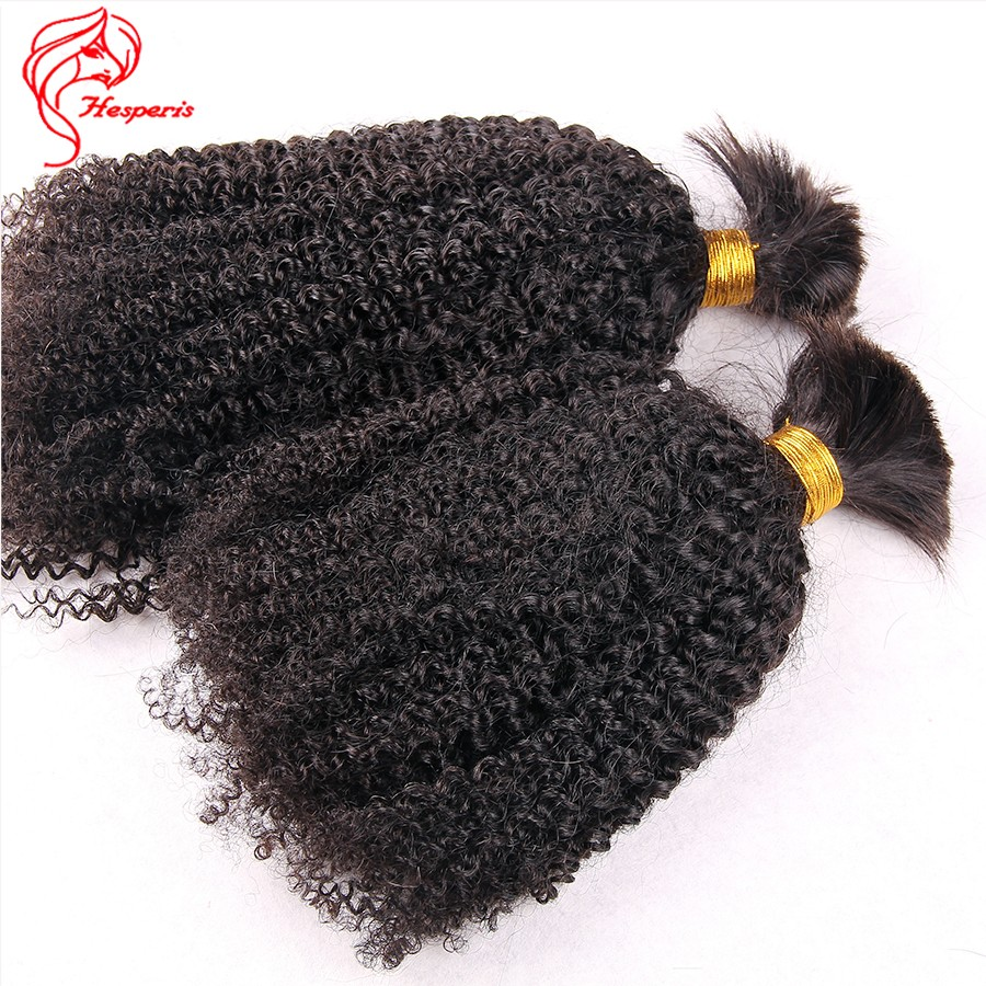 Best Unprocessed Virgin Brazilian Human Braiding Hair Bulk Extensions Curly Hair Style 3pc/lot 100 Bulk Human Hair Wholesale