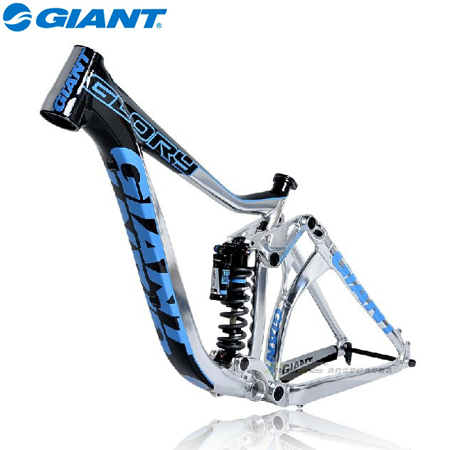 "2014 GIANT GLORY FR Size 15.5''/16""/17''ROCK SHOX Vivid R2C 8.0"" MAESTRO ALUXX 26ER DH Downhill Bike Bicycle Parts Frame(China (Mainland))"