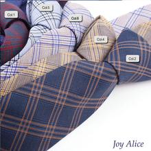 2017 Fashion Design Brand 6 cm necktie cotton ties for Men wedding striped corbatas party slim gravatas tie Neck tie T16-2