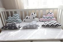 Comfort Cloud Star Baby Cushion Cute Toy Kids Room Decorative Toys Soft Throw Pillows Car Back Cushions(China (Mainland))
