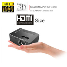 2016Newest Original UNIC UC18 Mini  Projector Pico Portable 3D Projector HDMI Home Theater Beamer Multimedia Video Full HD 1080P(China (Mainland))