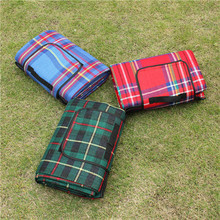 1 5 2M Outdoor Oxford Beach Picnic Camping Mat Multiplayer Fold Waterproof Moistureproof Baby Climb Plaid