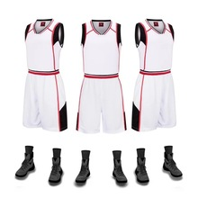 blank mens basketball suit jersey 2017 new jerseys basketball training uniforms sportswear group can custom name number 5XL(China (Mainland))