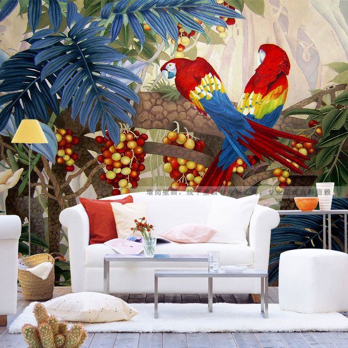 Free Shipping 3d Stereoscopic Large Mural Bedroom Living