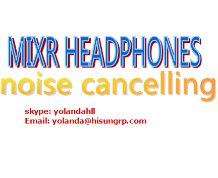 noise cancelling mix r DJ headphones free shipping DHL(China (Mainland))