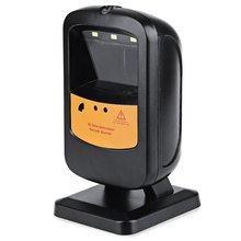 High-speed Scanning Hot Sales OCBS-T201 Desktop Wired Omni-directional 2D Barcode Scanner Reader for Supermarket and POS System(China (Mainland))