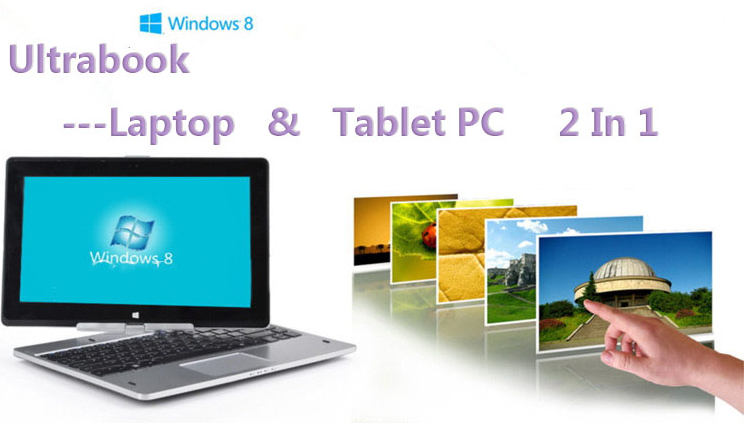 11.6 inch Brand New Touch Screen Rotating Laptop Tablet Notebook Ivy Bridge 1037U Win8 / Wind7 HZ-R116 [4G RAM 320G HDD](Hong Kong)