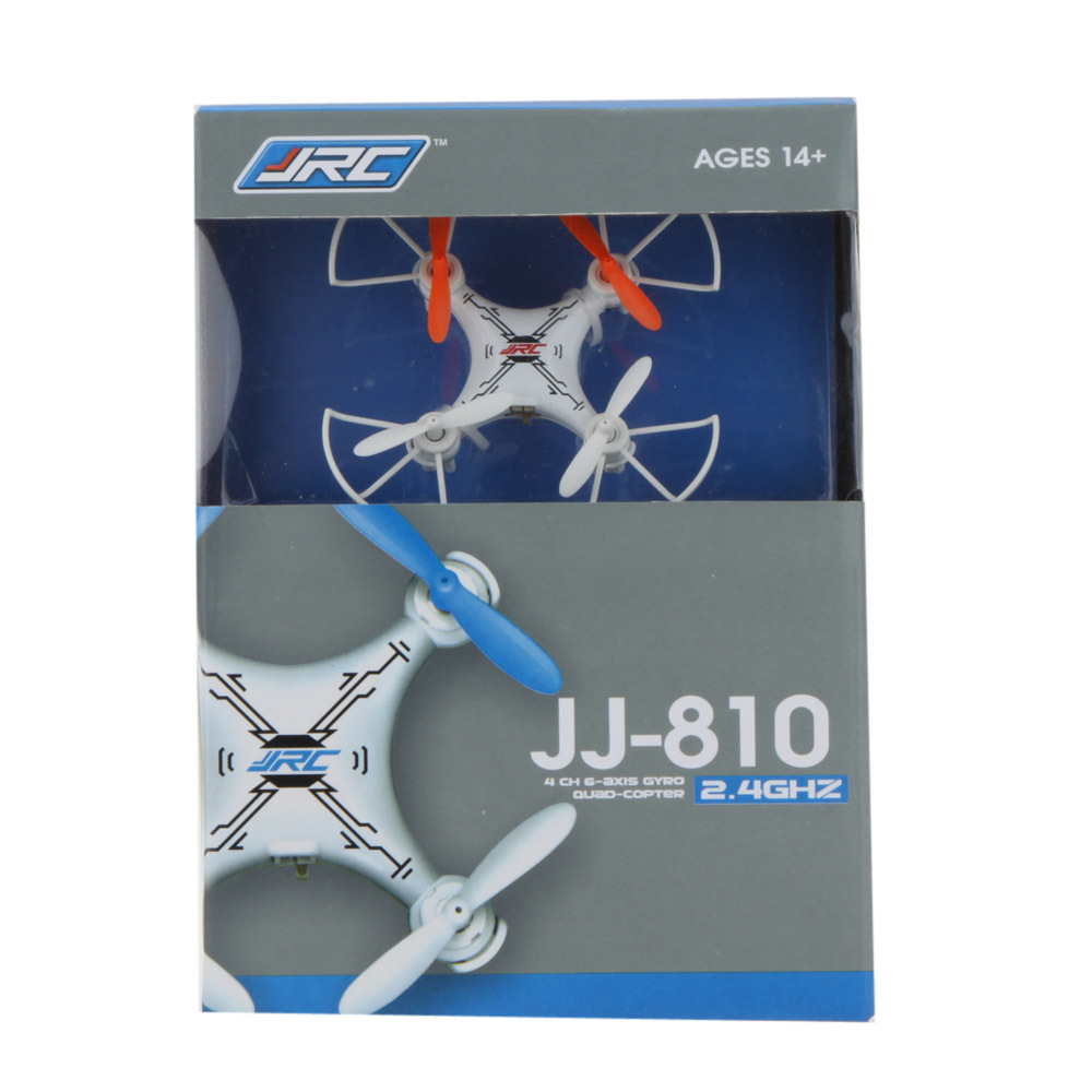 JJRC JJ810 4CH 6 Axis Gyro Nano RC Quadcopter UFO Drone 360 Degree Eversion RTF 2