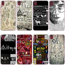 Harry Potter Deathly Hallows Hard Transparent Cover Case Lenovo S850 S90 S60 & Nokia 535 630 640 Sony Z2 Z3 Z4 - Lavaza Official Store store