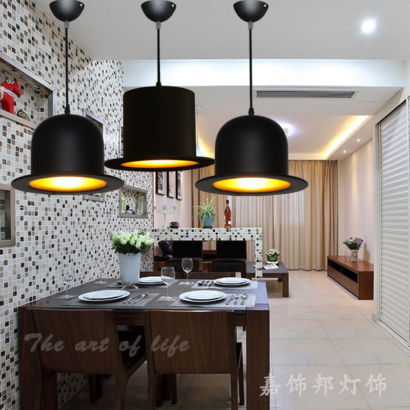 Scandinavian-style restaurant three aluminum chandelier lighting hat restaurant bar clothing hat den chandelier(China (Mainland))