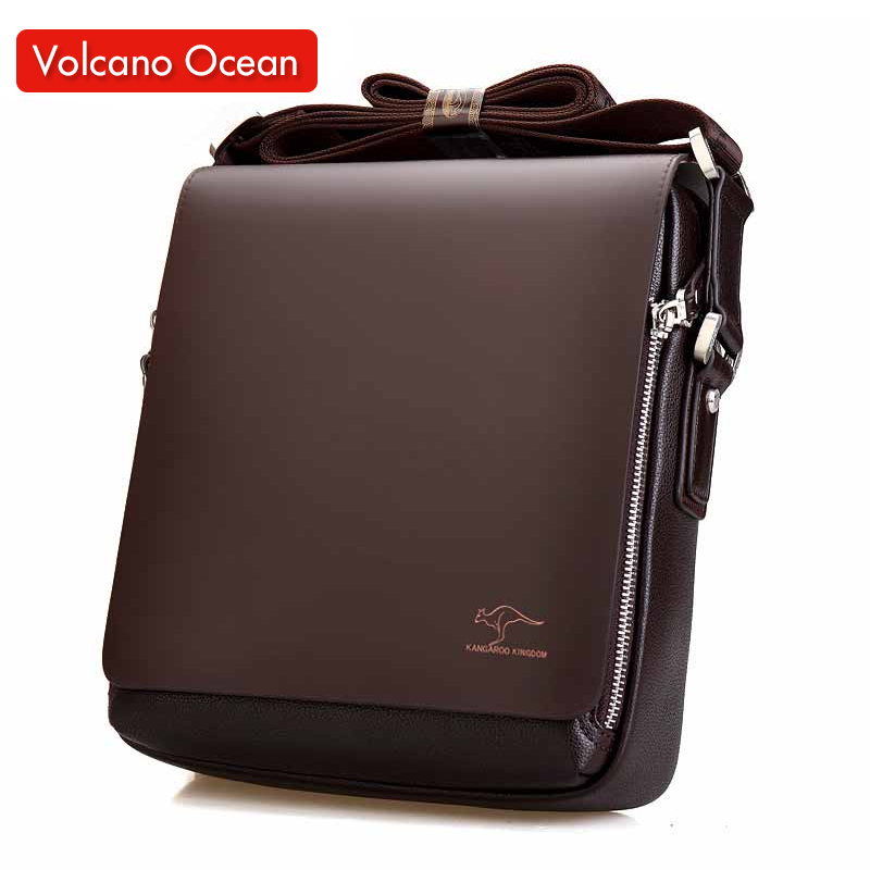 2016 New Messenger Bag Men Big Promotion Kangaroo Brand Man Bag Men's Bags Men Messenger Casual Shoulder Briefcase(China (Mainland))