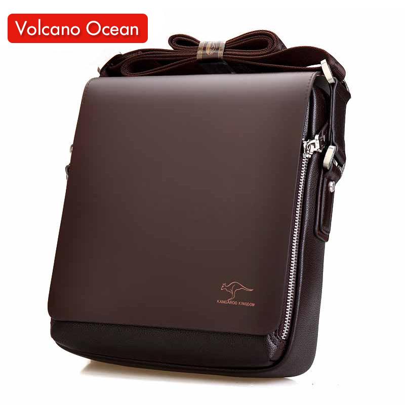2016 New Messenger Bag Men Big Promotion Kangaroo Brand Man Bag Men's Bags Men Messenger Casual Shoulder Briefcase(China (Mainland))