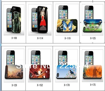 3d Three-Dimensional best-selling for iPhone 4 4s cell phone case free Shipping high quality   058