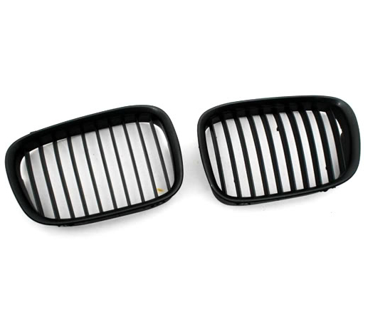 Euro Style Matte Black Front Grille for BMW E39 pre-facelift 5 Series(China (Mainland))