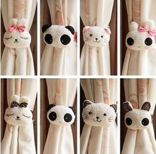 2014 Special Offer for Curtains Curtain Rods free Shipping Kawaii Animal Window Curtain Buckle Tieback Clamp Clip Hook Retail(China (Mainland))