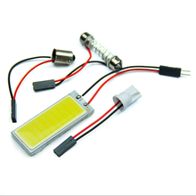Buy 36 LED COB Chip Car Auto Interior Light Panel Reading Map Bulb Lamp BA9S Festoon Dome Adapter 12V DIY Luggage Compartment Lights for $1.04 in AliExpress store