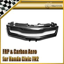 Buy Car-styling For Honda 2007-2011 Civic FN2 Type R Carbon Fiber Front Grill Racing Grille for $118.00 in AliExpress store