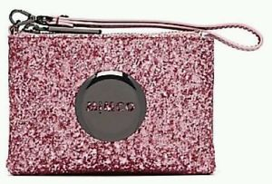 NEW ARRIVED MIMCO Celestial Hydrangea Pink Sparks Pouch Wrist Strap Small Pouch(China (Mainland))