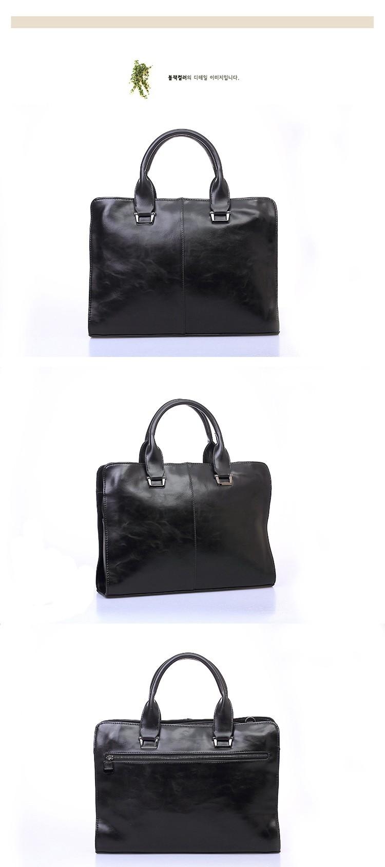 Men Vintage Business Real Genuine Leather Briefcase Travel Causal Messenger Shoulder Portfolio Laptop Bags Lawer Handbag Bolsa (1)