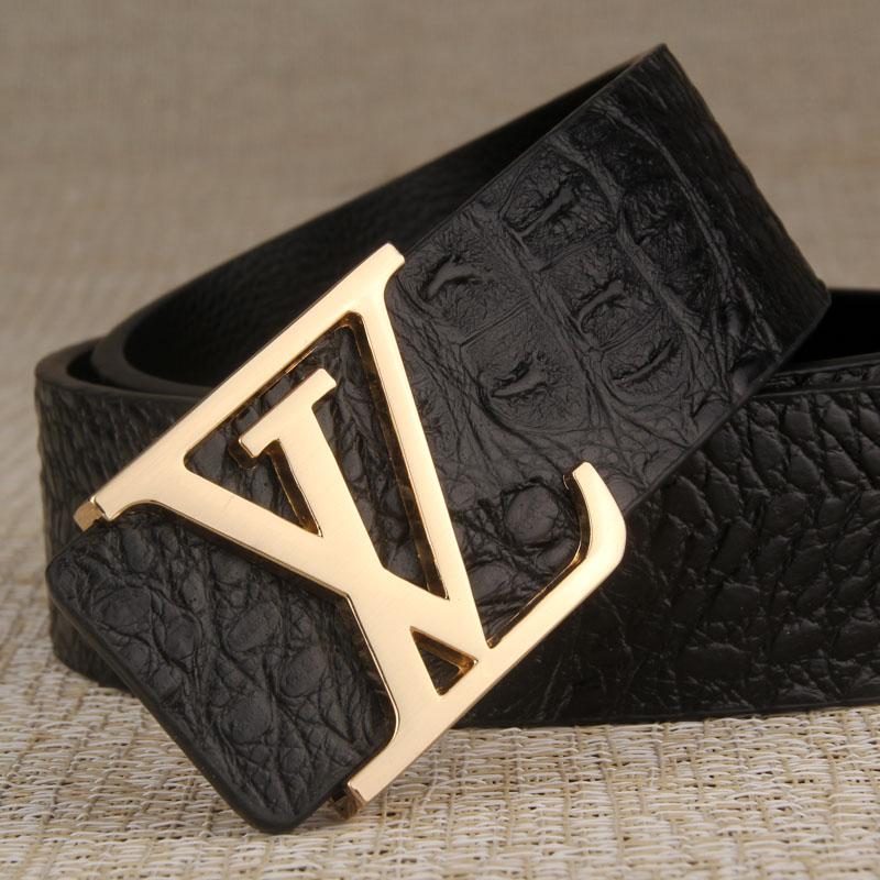 Men belt Luxury brand leather belt for men casual belt fashion designer genuine leather belt man free shipping(China (Mainland))