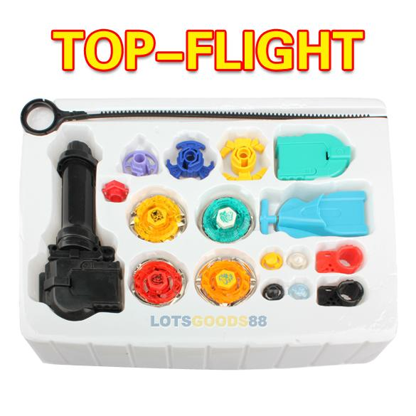 LS4G 2014 Hot Beyblade Metal Fusion Super String Rip Cord Launcher Children Education Toy Set Favor Toy Set(China (Mainland))