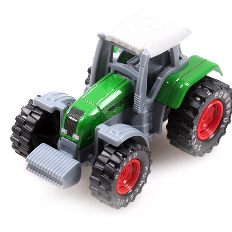 New Arrival Educational Toy 1:64 Alloy Tractor Toy Rural Truck Small Farmer Model Children's Toy Metal Model Farm Vehicles(China (Mainland))