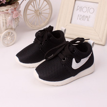 2016 0 to 3 years old baby shoes outdoor newborn prewalker fashion kids sneakers boys and girls shoes lace-upchildren's shoes(China (Mainland))