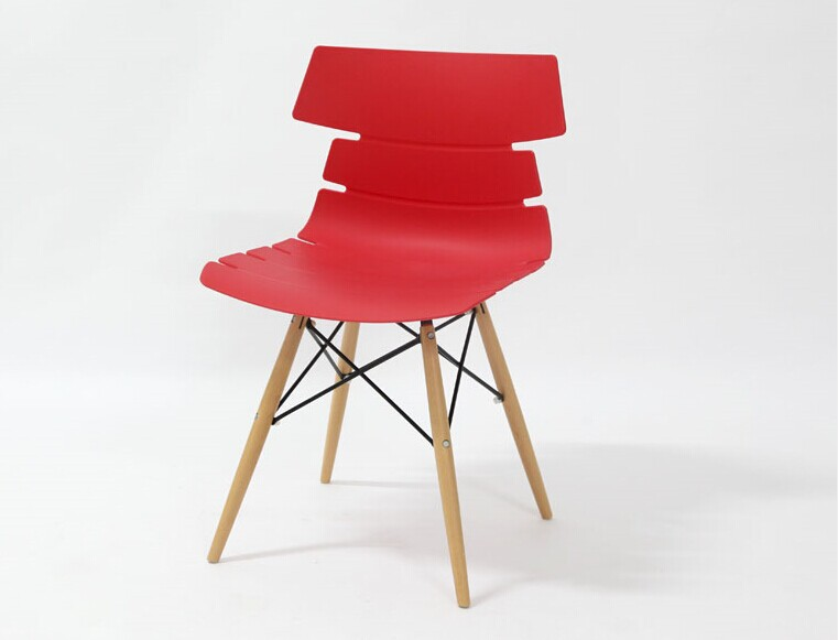 Aliexpresscom buy fashion 100 wooden plastic chair for Plastic furniture for living room