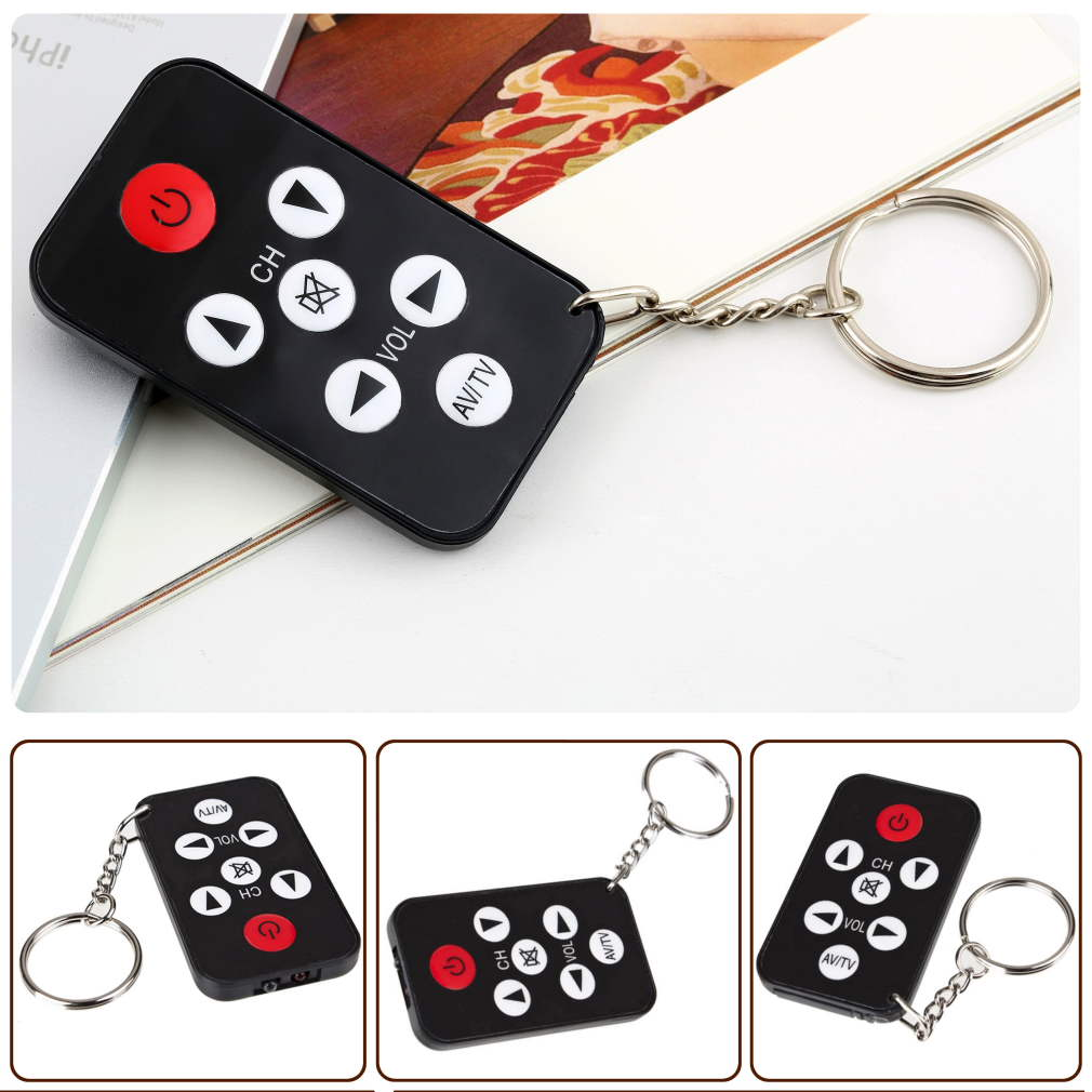 1pc TV Mini Keychain with battery Universal Remote Control for Philips for Sony for Panasonic for Toshiba Newest [Free Shipping](China (Mainland))
