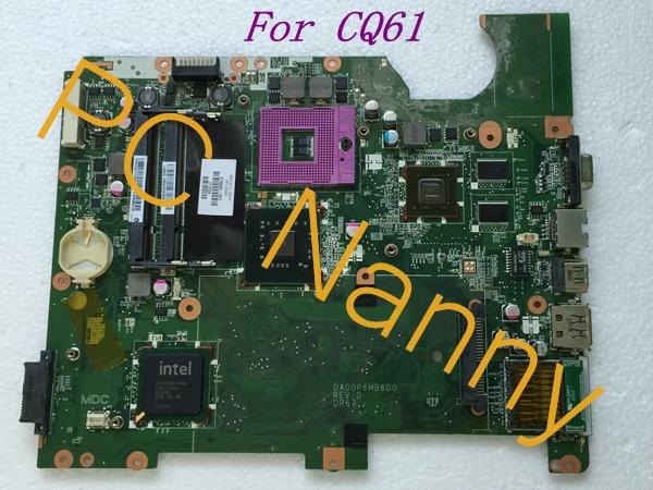 578000-001 DA00P6MB6D0 for HP compaq presario CQ61 laptop Intel motherboard s478 PM45(China (Mainland))