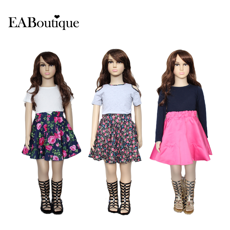 2015 Summer Autumn Girls Fashion outfits clothing sets retail kids 1 set XTW - EABoutique store