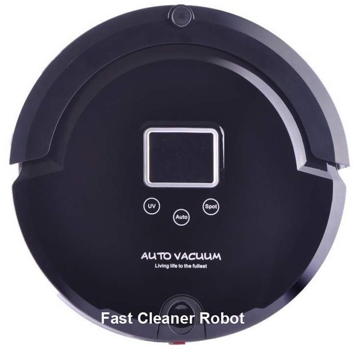 Newest Cheaper Smart robot clever vacuum cleaner,UV lamp,Speed adjustment,Remote Controller,Anti-falling(China (Mainland))