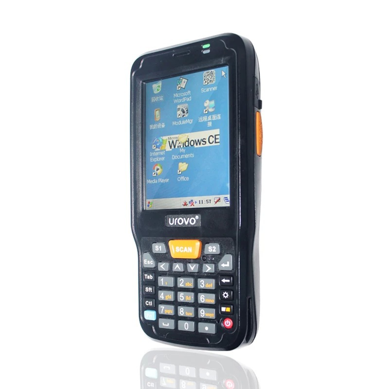 UROVO I6000s pda mobile terminal windows OS barcode scanner and data collector with wifi rfid nfc gps gprs(China (Mainland))