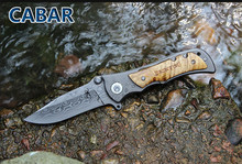 Cabar 2015 New Arrival 8cm Single Blade Hunting Camping Diving Outdoor Knife Top Quality Blade Free