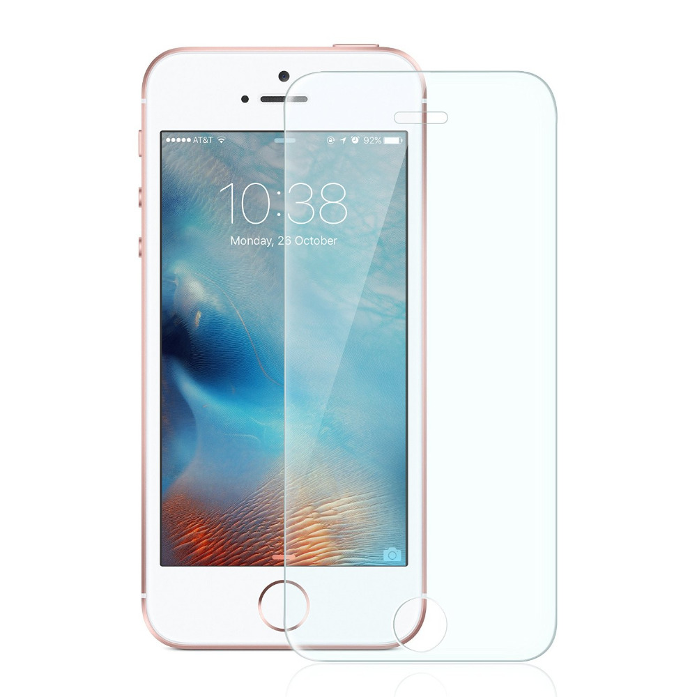 High Quality Ultra Thin Premium Tempered Glass Film Screen Protector for iPhone 5S 5C 5 SE Explosion Proof Film + Cleaning Kit(China (Mainland))