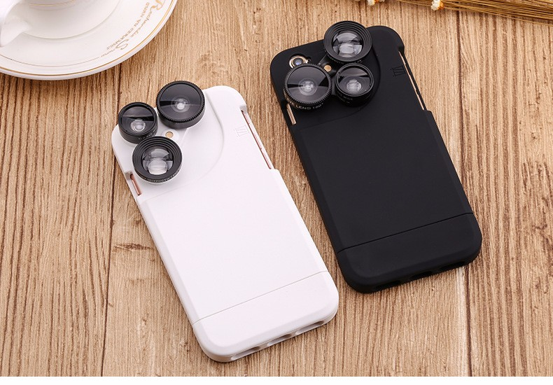 Wide-angle fish-eye macro distance from the four-in-one camera phone lens Universal Professional HD Camera Lens for phone camera